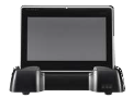 2TouchPOS Tablet on cradle - Crider Solutions